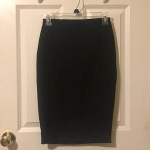 Brand New: Express Black Classic Pencil Skirt